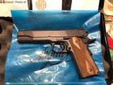 "KIMBER CLASSIC 1st. series , 5"" As New unfired in box"