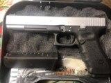"Glock 24 , 40 caliber Custom two tone , 6"" barrel , other custom feathers - 3 of 13"