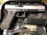"Glock 24 , 40 caliber Custom two tone , 6"" barrel , other custom feathers - 4 of 13"