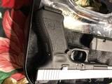 "Glock 24 , 40 caliber Custom two tone , 6"" barrel , other custom feathers - 12 of 13"
