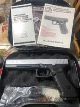 "Glock 24 , 40 caliber Custom two tone , 6"" barrel , other custom feathers - 2 of 13"