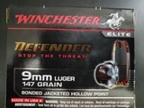 Winchester 9mm hollow point