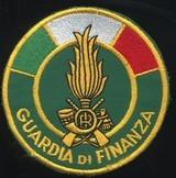 Italian Revenue Police shoulder patch Guardia di Finanza