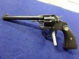 Colt Police Positive .22 caliber target