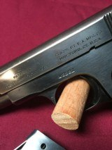 COLT HAMMERLESS .380 PISTOL W/ 2 FACTORY MAGS. - 6 of 7