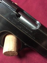 COLT HAMMERLESS .380 PISTOL W/ 2 FACTORY MAGS. - 2 of 7