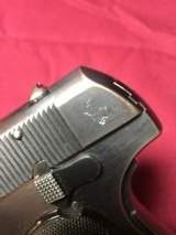 COLT HAMMERLESS .380 PISTOL W/ 2 FACTORY MAGS. - 5 of 7