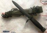US M-7 Bauer Ordnance Co. Bayonet & M8A1 TWB Scabbard