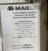 MAGLite Flashlight 4D Cell Hang Heavy Duty Black Mag Light Maglight S4D016 - 4 of 4