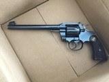 """Colt Pre War Officer's Model Target .38 71/2"""" barrel - 3 of 5"""