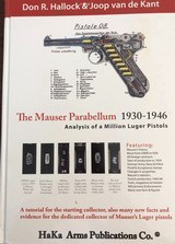 The Mauser Parabellum 1930- 1946 deluxe edition Signed By Authors And Numbered