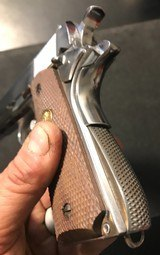 """ARGENTINE sistema COLT 1911 rare marked """"IP"""" Institutos Penales, mysterious IP DGFM FMAP MATCHING - 3 of 15"""