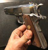 """ARGENTINE sistema COLT 1911 rare marked """"IP"""" Institutos Penales, mysterious IP DGFM FMAP MATCHING - 6 of 15"""