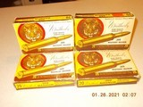 300 Weatherby magnum brass, 4 vintage tiger boxes (72 pieces of brass) once fired. - 1 of 3