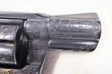 "1976 Colt Detective Special 38 Special 2"" Barrel, Engraved by Master Engraver Denise Thirion, Blue. - 4 of 15"