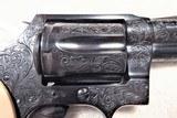 "1976 Colt Detective Special 38 Special 2"" Barrel, Engraved by Master Engraver Denise Thirion, Blue. - 3 of 15"