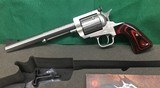 Magnum Research BFR 357 Magnum Revolver with Custom Grips
