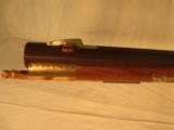 Dale Johnson Left Hand .32 Caliber Flint Lock Rifle - 10 of 12