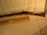 Dale Johnson Left Hand .32 Caliber Flint Lock Rifle - 1 of 12