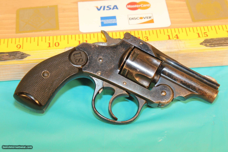 U  S  Revolver Company (H&R) 32 Bicycle pistol