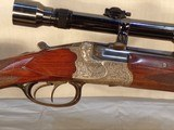 Robert Schuler-Koln 8x60RS double rifle. - 4 of 10