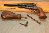 Colt 1860 Army Replica 4 screw 44 revolver. - 9 of 9