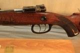 R.Bessel & Sohn. Sagan German prewar sporting rifle in 8mm06 Caliber - 8 of 10
