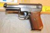 Mauser Model 1934 Pistol 7.65 MM or 32 ACP Caliber
