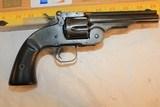 S & W Schofield Revolver Marked Wells Fargo Express.