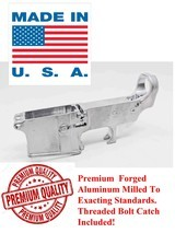 Premium 80% Forged Raw Lower Receiver - 1 of 5