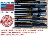 9mm AR Bolt - Nitride