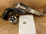 NEW FREEDOM ARMS 83 PREMIER GRADE REVOLVER 500 WE WYOMING EXPRESS 500 AE WITH FACTORY UPGRADES - LAYAWAY AVAILABLE - 15 of 19