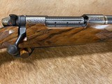 FREE SAFARI - NEW WEATHERBY MARK V WYOMING GOLD COMMEMORATIVE LIMITED EDITION RIFLE NO. 70 OF 200 W/ LEATHER CASE