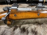 CUSTOM WINCHESTER PRE-64 MODEL 70 DANGEROUS GAME RIFLE 458 LOTT WITH MANY BESPOKE FEATURES