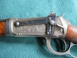 Winchester 1894 38-55 Factory Engraved Deluxe Take-Down Rifle dom 1911 P. Muerrle authenticated - 2 of 15