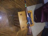 Remington model 750 unfired with leoupold vx-r9 3x9x50 lighted scope