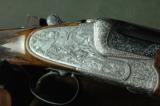 Merkel 303 EL Sidelock O/U 16 Gauge - Karola Knoth Engraved, Hand Detachable Locks & Exhibition Wood - 1 of 10