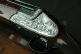 Merkel 303 EL Sidelock O/U 16 Gauge - Karola Knoth Engraved, Hand Detachable Locks & Exhibition Wood - 2 of 10