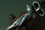 """W. W. Greener Unique Ejector 12 Bore """"G"""" Gun with 30"""" Barrels --- Leather Cased with Accessories - 3 of 12"""