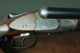 """W. W. Greener Unique Ejector 12 Bore """"G"""" Gun with 30"""" Barrels --- Leather Cased with Accessories - 1 of 12"""