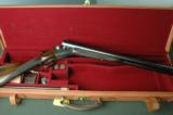 """W. W. Greener Unique Ejector 12 Bore """"G"""" Gun with 30"""" Barrels --- Leather Cased with Accessories - 9 of 12"""