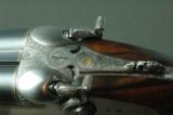 A&S Famars Castore Hammergun – Pasolini Engraved and Fabulous Wood – Like New Condition - 3 of 12