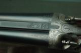 HDHHenrion, Dassy & Heuschen Hammer Pigeon Gun with Extensive Game Scene Engraving - 7 of 10