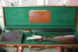 Kreighoff Ulm-P 12 Gauge Trap Pigeon Gun – Hand Detachable Sidelocks