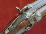 "Westley Richards 12 bore Bar in Wood 'Crab Jointed' Hammergun with 30"" Nitro Damascus Barrels"