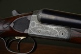 John R. Gow & Sons 12 Bore Boxlock Ejector – Dundee - Scotland – Fabulously Engraved - 2 of 12