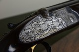 Beretta S3 EELL Sidelock Pigeon Gun with Full Coverage Engraving by Sabatti - Nizzoli Cased – S3EELL - SO5 EELL - SO3 - 3 of 14