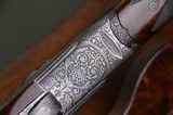 Beretta S3 EELL Sidelock Pigeon Gun with Full Coverage Engraving by Sabatti - Nizzoli Cased – S3EELL - SO5 EELL - SO3 - 4 of 14