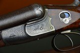 """W.W. Greener G60 Royal with 30"""" Original Damascus Barrels – Great Engraving – Highly Figured and Carved Stock - 1 of 15"""