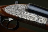 Renato Gamba St. Vincent Sidelock Ejector Pigeon Gun – Highly Engraved – Boehler Steel Barrels – Italian Made - Excellent